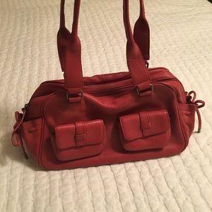 Loft leather handbag